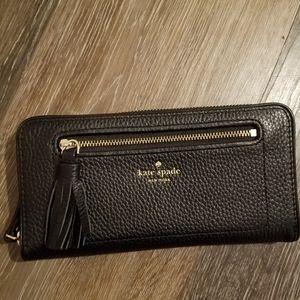 Authentic Kate Spade zip around wallet
